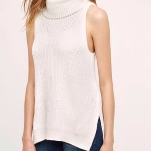 anthro | angel of the north sleeveless sweater L